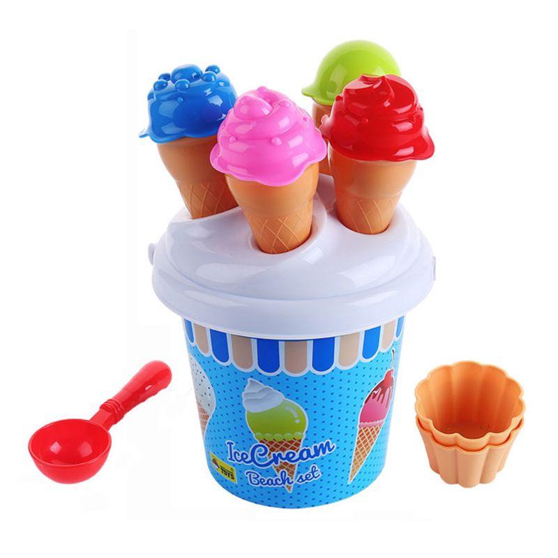 cake Ice cream Sweet Treat Shop Sand Play Set doughnut sand molds beach toy