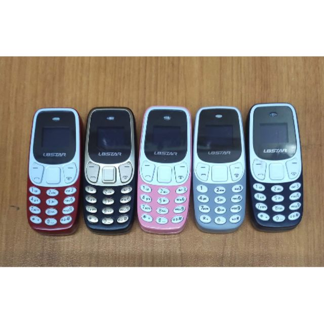100%Original L8star BM10 mini Design Cellphone