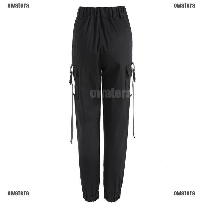 YUNY Mens Tactical Straight-Fit Drawstring Sides Casual Pant Dark Grey 31