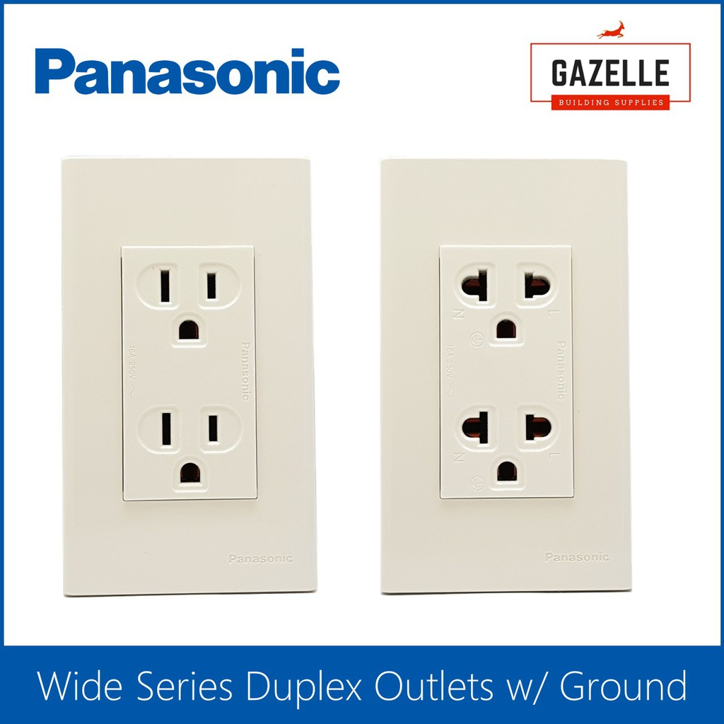 Astounding Panasonic Wide Series Universal Outlets Shopee Philippines Wiring 101 Akebretraxxcnl