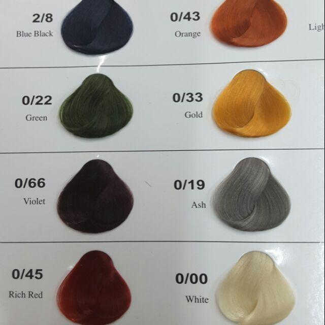 Color Chart Epsa Hair Coloring Cream