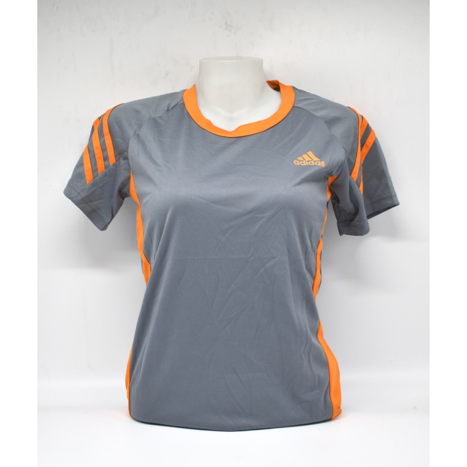 Centro de producción Calumnia harina  Adidas Woman Dry Fit T-Shirt Grey | Shopee Philippines