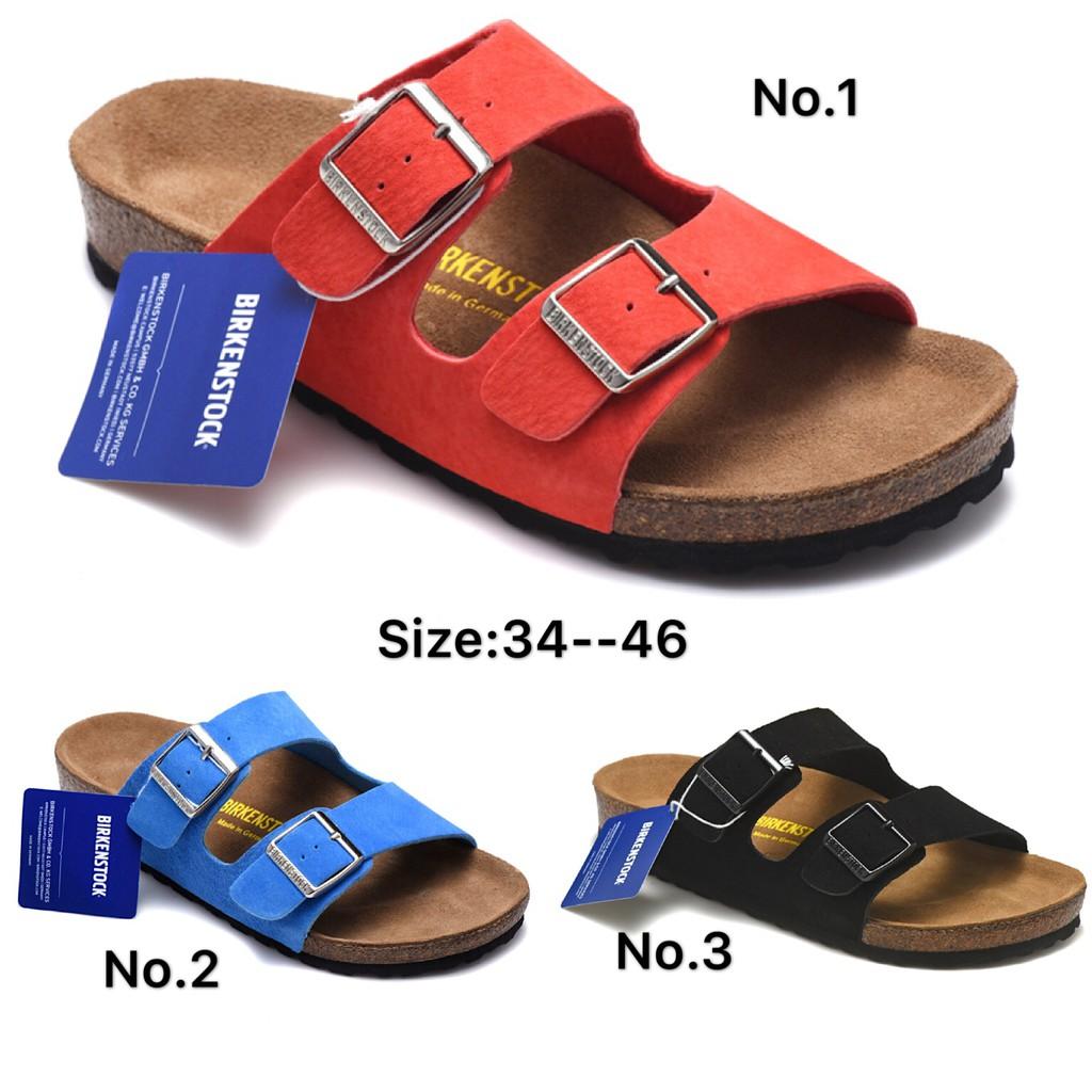 100% Original Birkenstock Arizona Slippers Men & Women Sandals