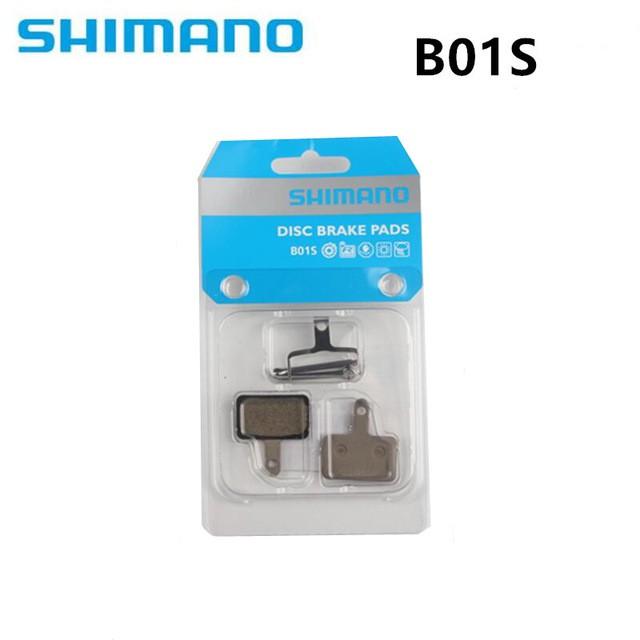 Shimano J02A Resin Disc Brake Pad /& Spring With Fin x2 Bicycle Brake Pads Pair