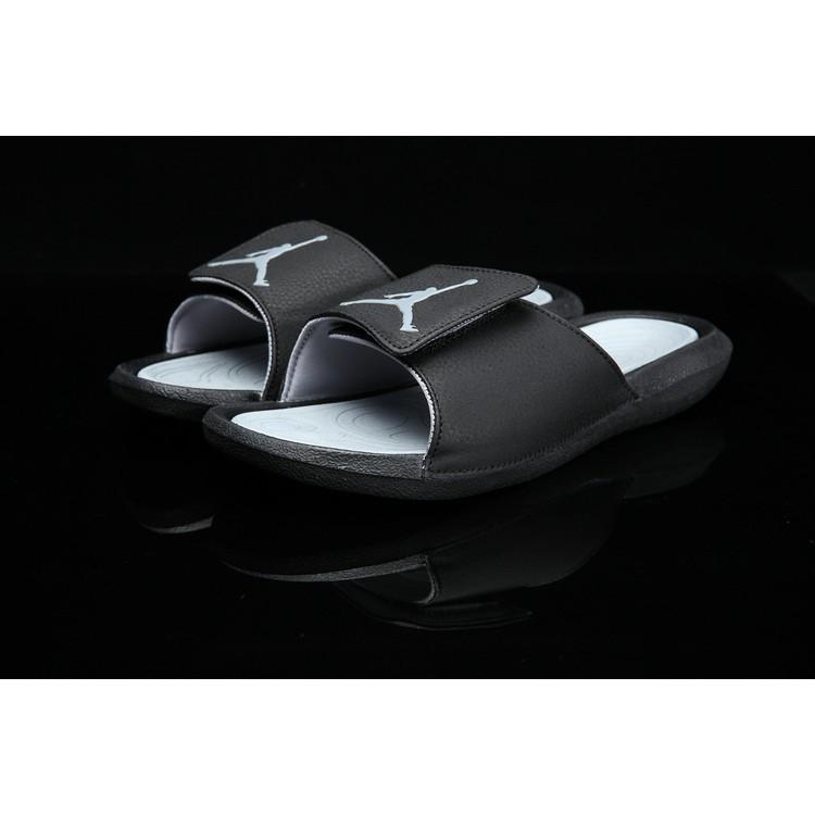 "dbda43a2a93f5 Jordan Hydro 6 ""Gym Red Black"" Slippers (FREE Paperbag)"