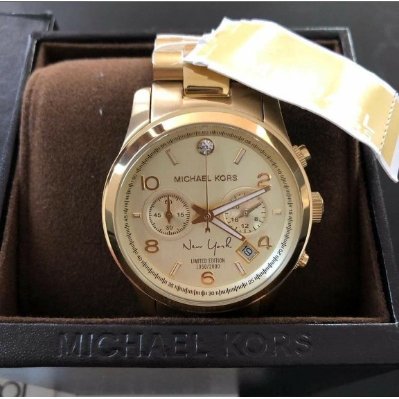 afa2d1dd9df8 Authentic Michael Kors Limited Edition New York Gold Watch