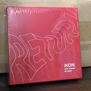 Sealed Ikon album Return (On Hand)   Shopee Philippines