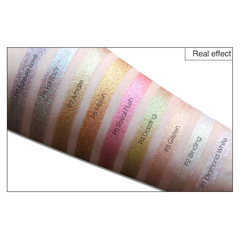 IMAGIC New Arrival Glitter Eyeshadow Metallic Loose Powder