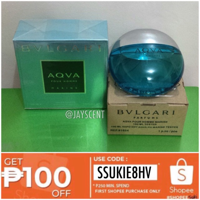 ce3b71e1b6 Bvlgari Aqva Atlantiqve | Shopee Philippines