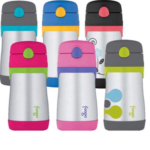Pink//Purple Thermos Foogo 10 oz Straw Bottle Pink//Green /& 11 oz Bottle