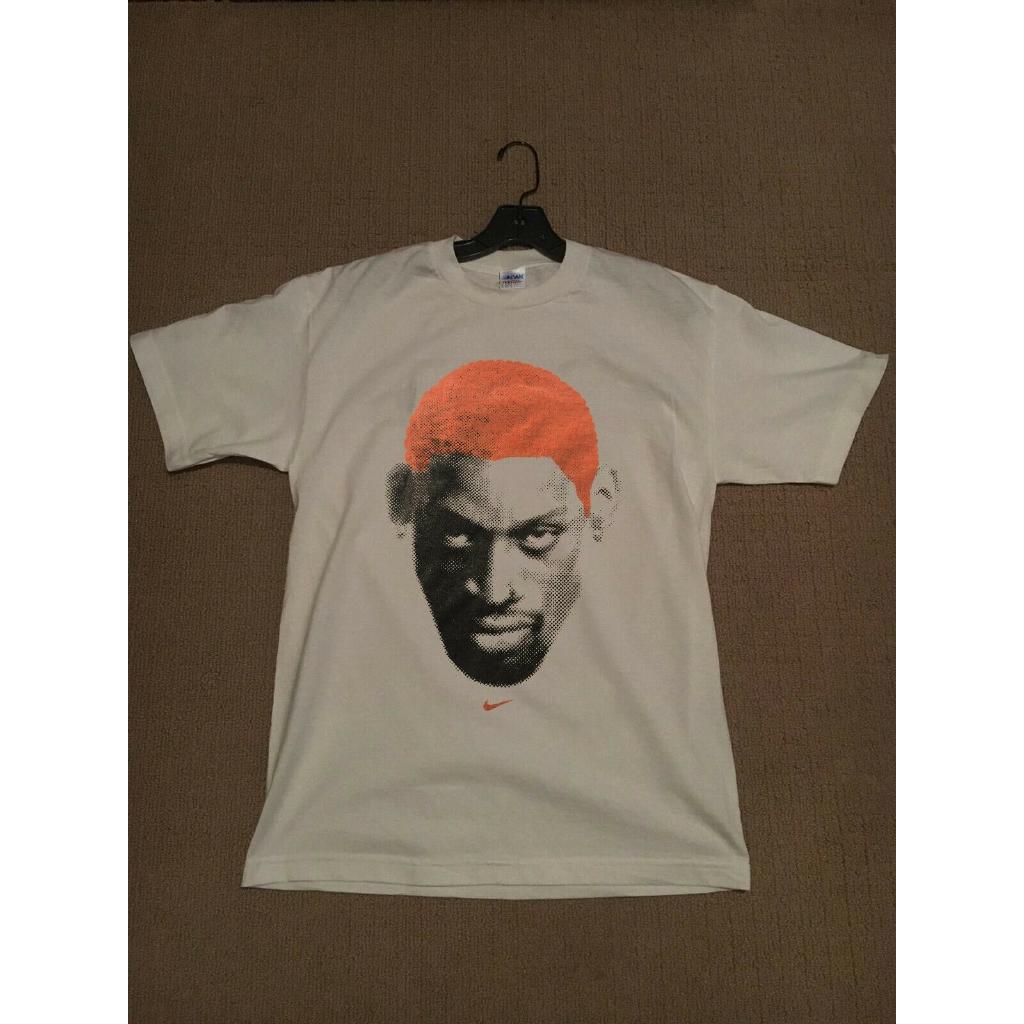 Vtg shirt Dennis Rodman Vintage 90s Rodzilla Chicago Bulls New t-shirt