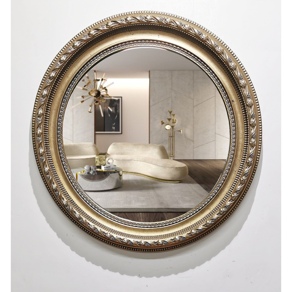 Golden Royal Wall Mirror Home Decor Gift Ideas Shopee Philippines