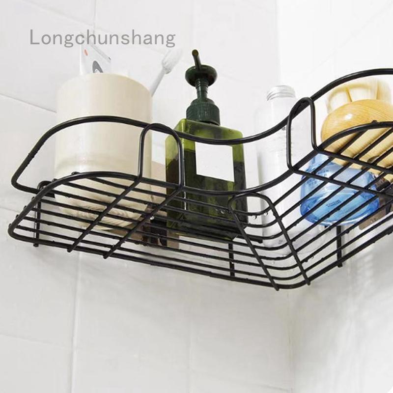Longchunshang.ph .ph Bathroom Corner Rack Kitchen Fixtures ...