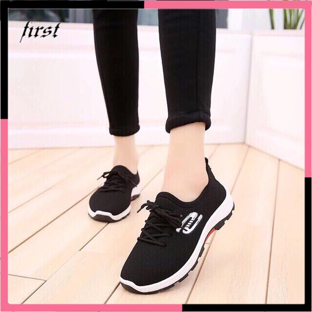 4ae6539e440 korean sport rubber running shoes sneakers for women shoes
