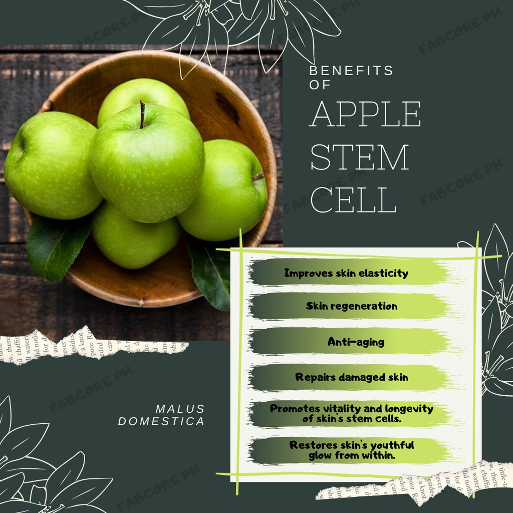 Stem Cell Juice With Collagen And Apple Stem Cell Shopee Philippines