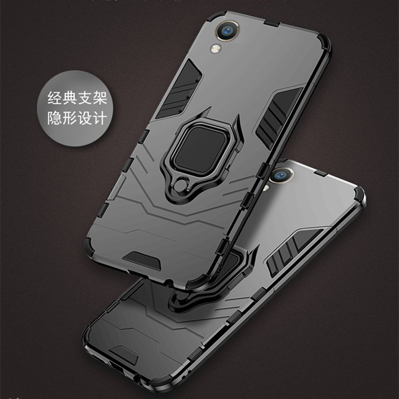 OPPO R17 Pro F1 F3 R9s Plus Car Holder Stand Hard Case