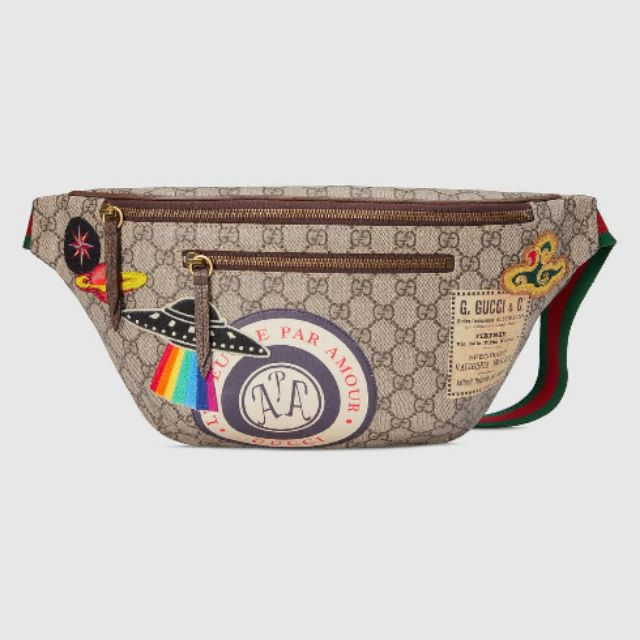 52fdd154ba81 Gucci Sylvie Stripe Belt Bag Replica | Shopee Philippines