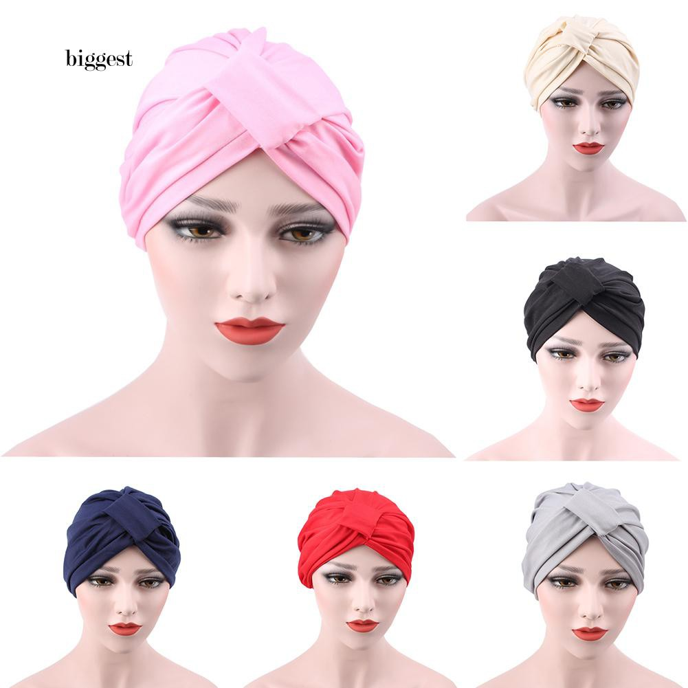 Head Wrap Hijab Cancer Chemo DuRag Pink Lace Stretchy