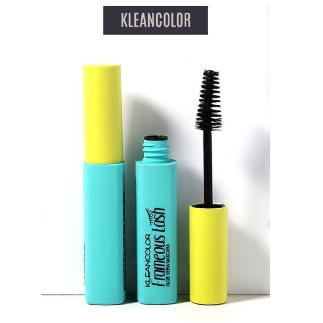 9bbbd4dddc2 Kleancolor Aloe Vera Based Waterproof Mascara | Shopee Philippines