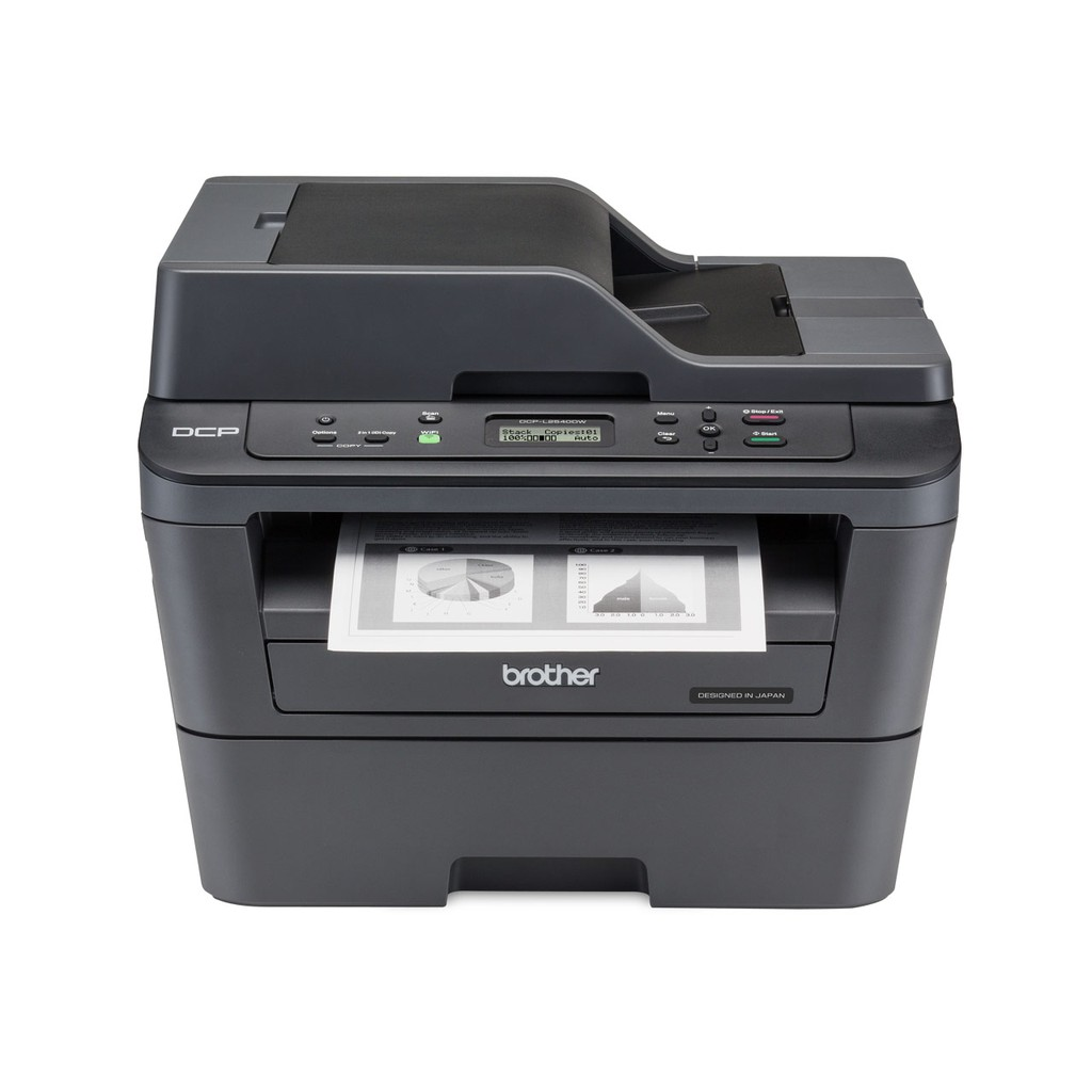 Brother DCP-L2540DW Wireless Compact Laser Printer (Black)