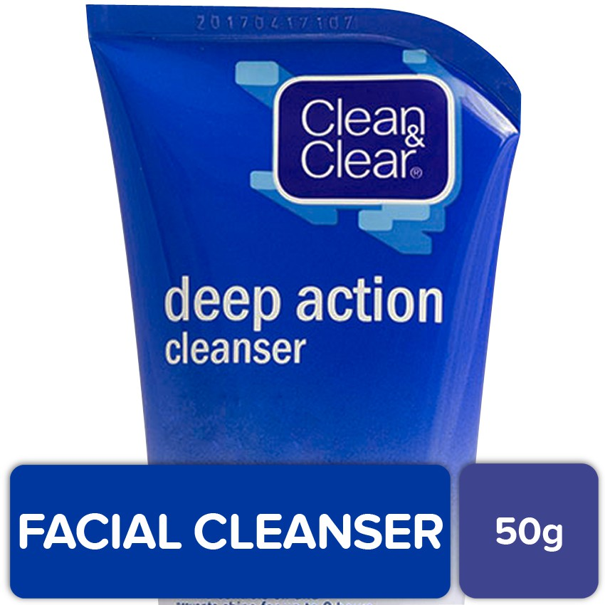 Clean & Clear Deep Action Cleanser 50g