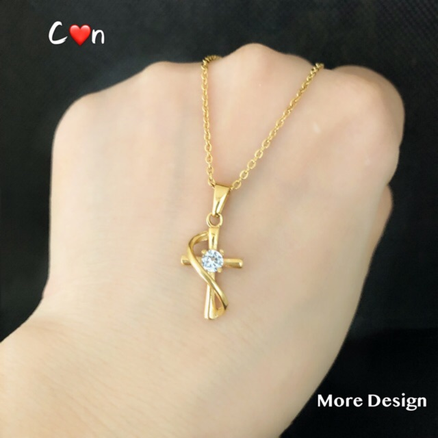 Stainless Gold Necklace Women S Jewelry Fashion Accessories