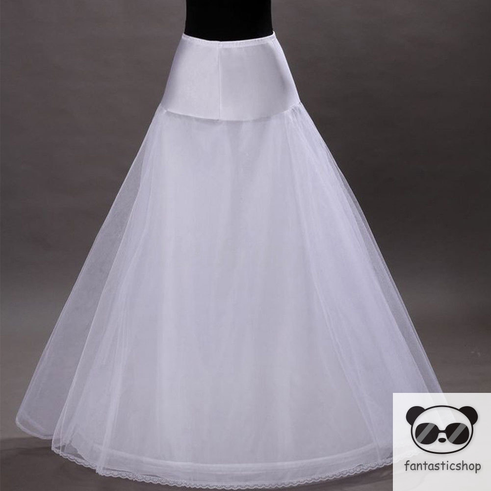 a208c4298f55 Sale 3 Hoop Ball Gown Bone Full Crinoline Petticoat Wedding Skirt Accessory  Slip | Shopee Philippines