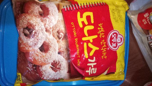 Korean ottogi doughnut mix 500g | Shopee Philippines