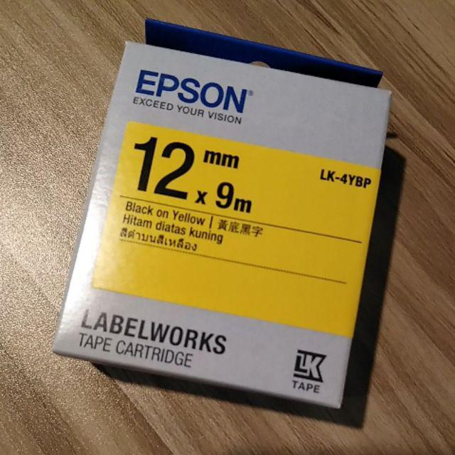 EPSON Ribbon LK-5WB2 white//black