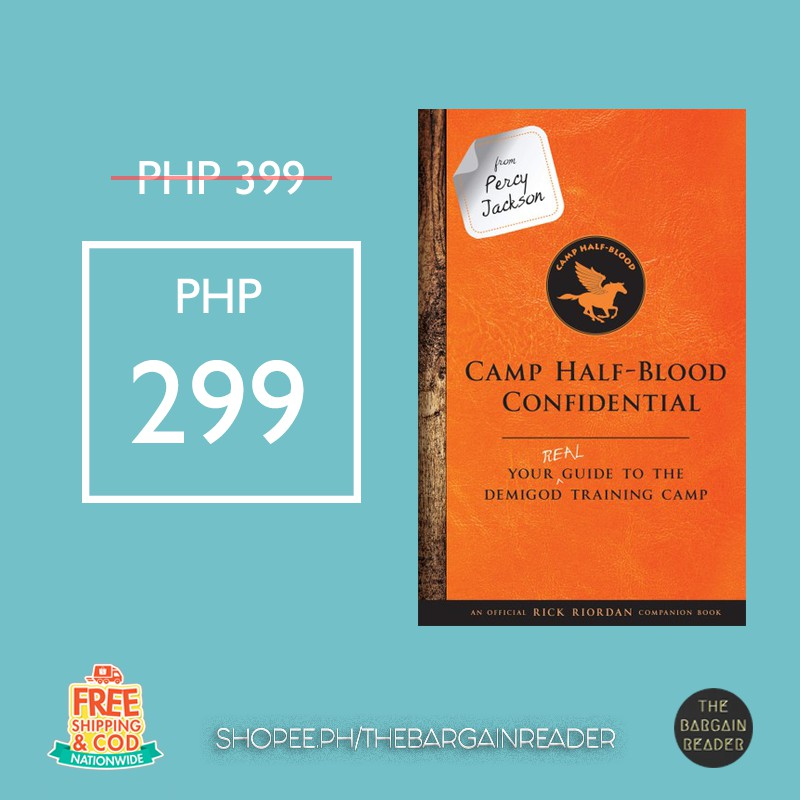 Camp Half-Blood Guide Book by Rick Riordan