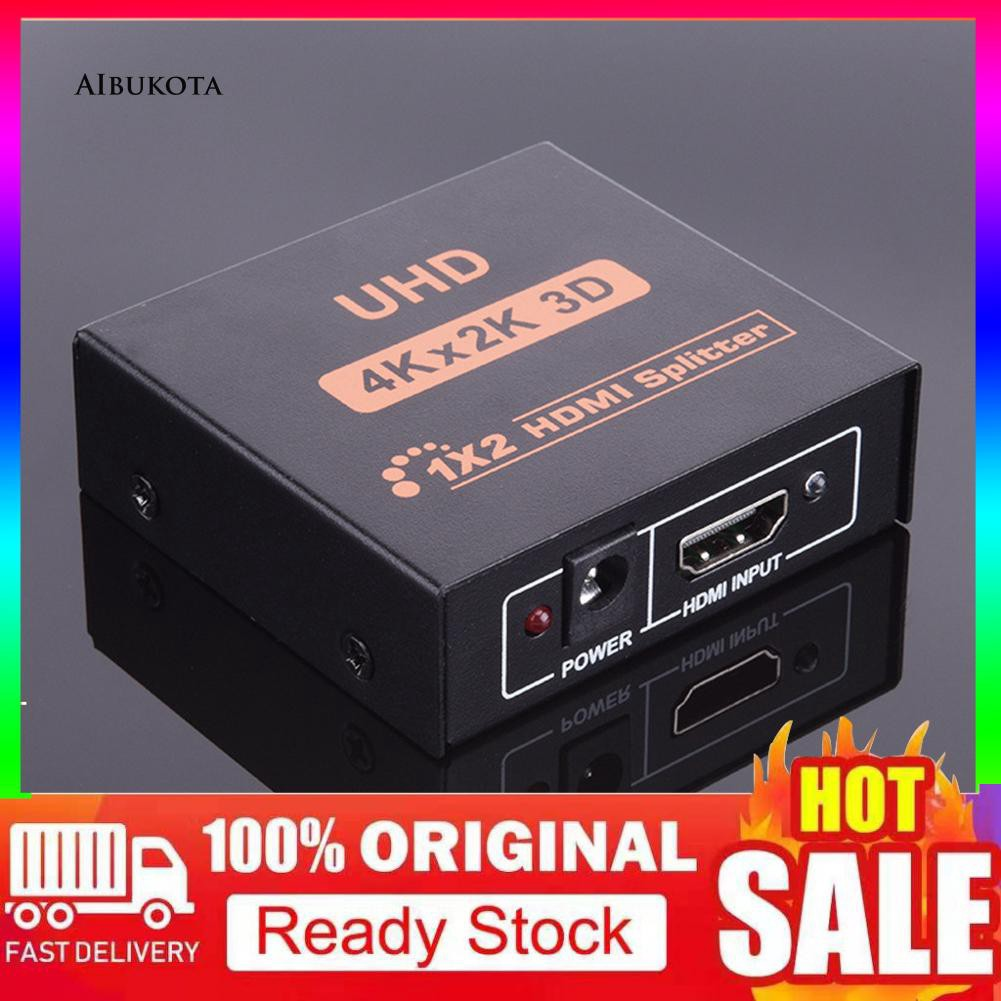 ARE-3D 4K*2K Full HD 1080P HDMI Splitter Adapter for Xbox PS4 PS3 Apple TV  Player