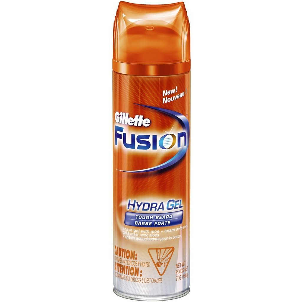 gillette fusion hydra gel tough beard