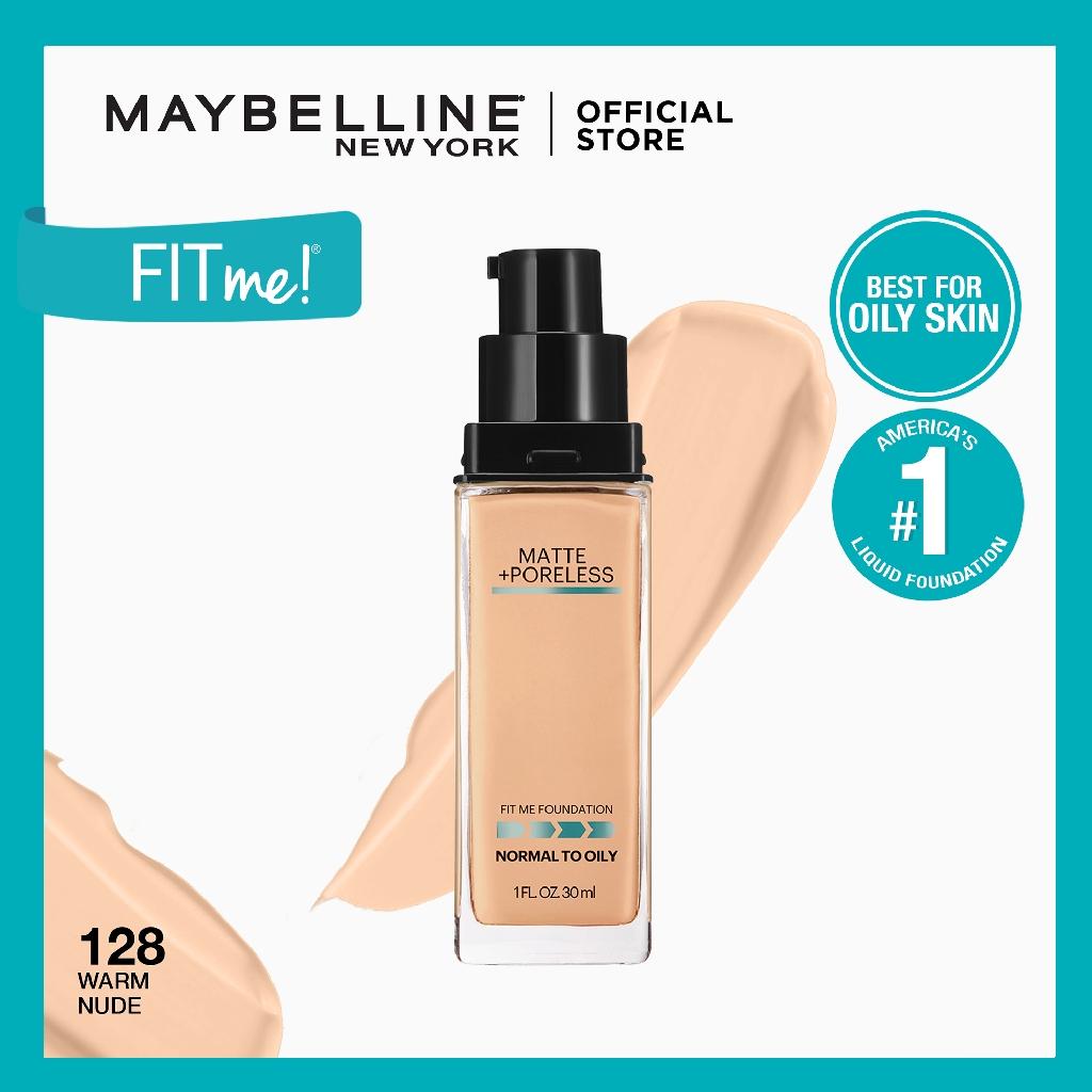 Maybelline Fit Me Matte Poreless Liquid Foundation Shopee Philippines