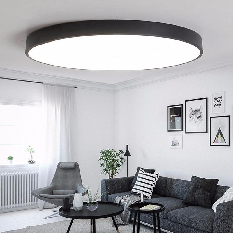 Modern Acrylic Led Ceiling Light 5cm