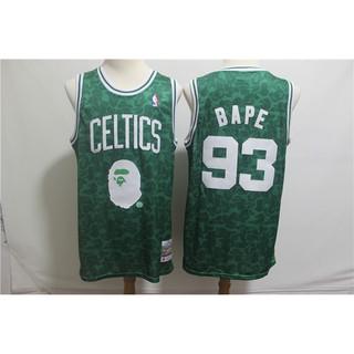 36352d480bd NBA Basketball Jersey Bape x Bull Vintage NO.93 S-XXL | Shopee ...