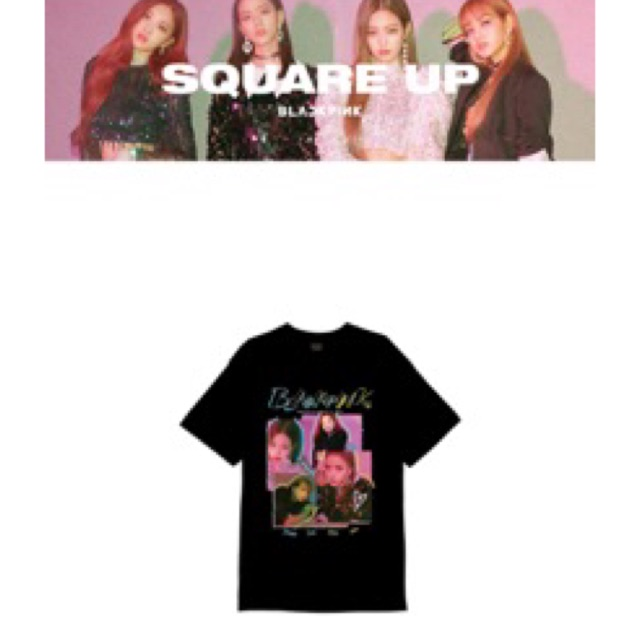 cbccbfb7 [ONHAND] BLACKPINK TSHIRT OFFICIAL | Shopee Philippines