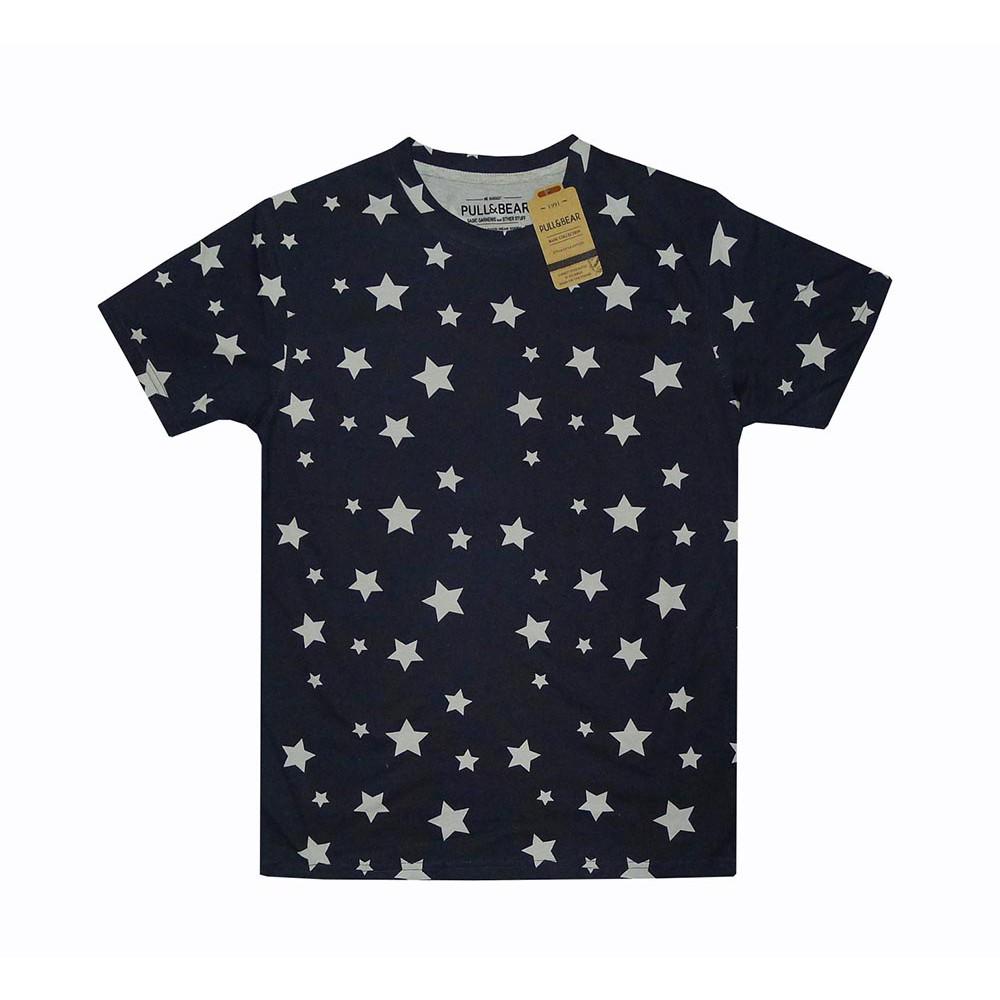 MEDIUM NEW Pull /& Bear Mens Printed T Shirt SIZE