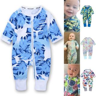 Newborn Jumpsuit Climbing Suit 90 Long Sleeve Cute Rainbow Print Infant Boy Girl Outfits