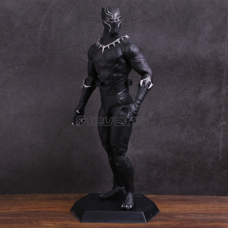 15CM Black Panther Action Figure 1//6 Scale Black Panther  Decoration PVC