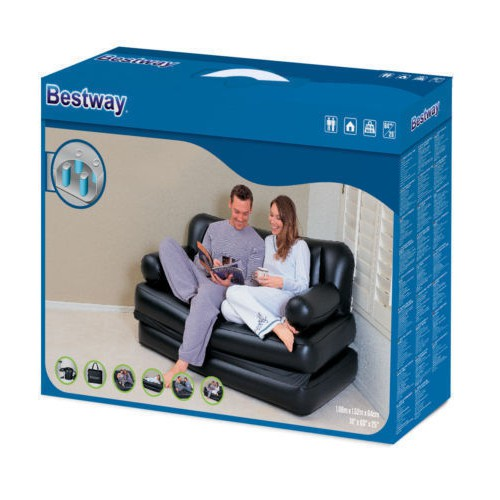 Image result for 5 in 1 Sofa Cum bed ( Get Free Electric Air Pump)