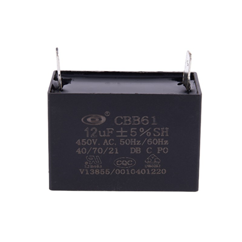 2x 450V AC 1uF 50//60Hz 5/% Polypropylene Film Motor Start Run Capacitor CBB61