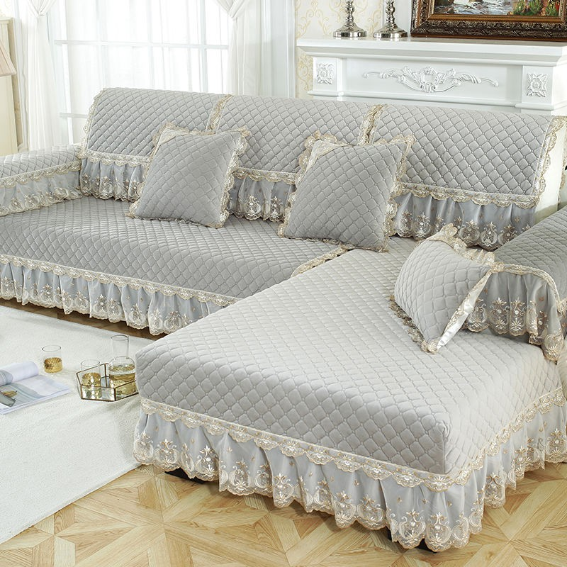 Winter Plush Sofa Fabric Simple Modern