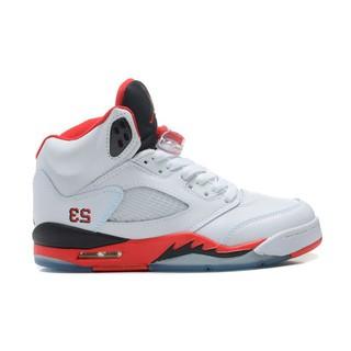 281e9776a94 zhshe Nike Air Jordan 5 Oreo Black Cool Grey-White New | Shopee ...