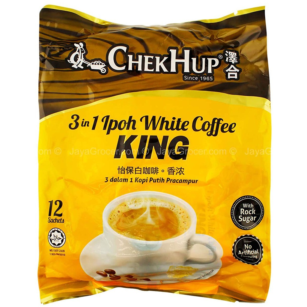 Chek Hup Ipoh White Coffee 3in1 King