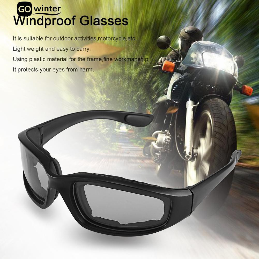 fa79aa1422 Outdoor Sports Anti-UV Motorcycle Glasses Windproof Goggles