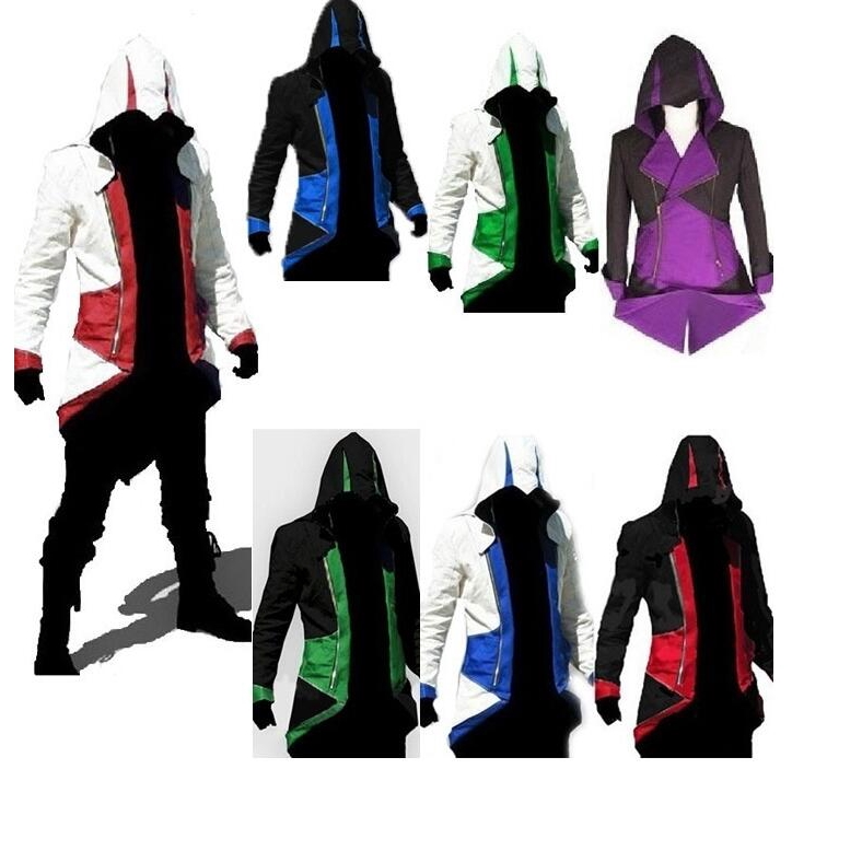 Anime Assassin S Creed Hoodie Jacket Large Size Jacket Men1