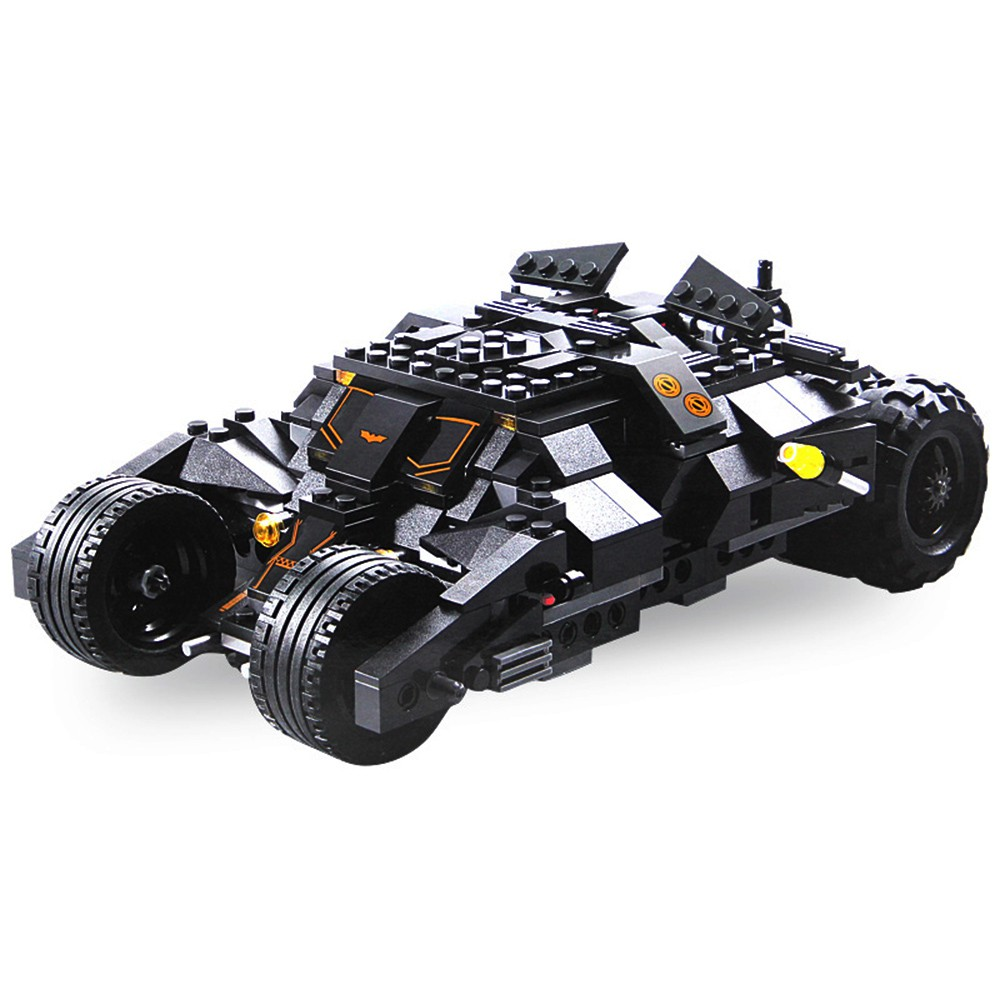 325 Pcs Robot Car Toys Batman Batmobile Best Toy For Kids Cool Xmas