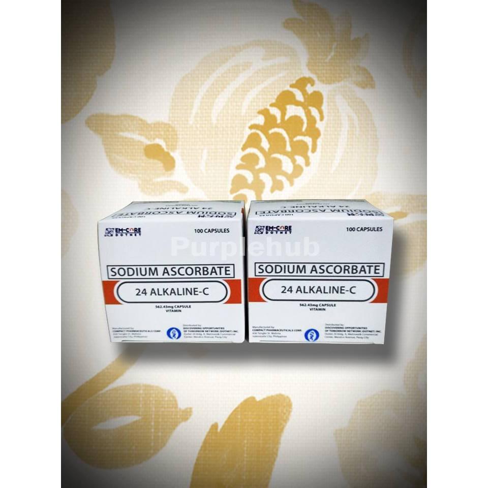24 Alkaline - C Vitamin C ( 2 boxes promo)
