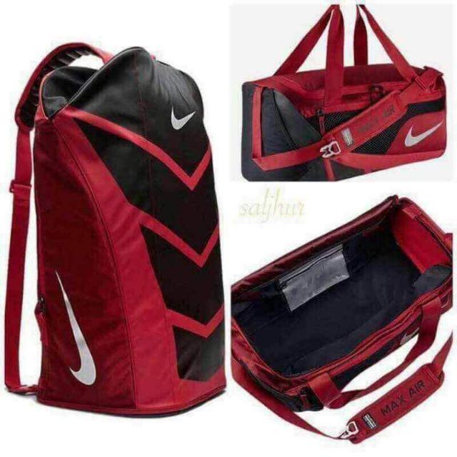 the best attitude 45464 d8dbe Nike Air Jordan Jumpman Trainer Duffel Gym Bag Black Silver   Shopee  Philippines
