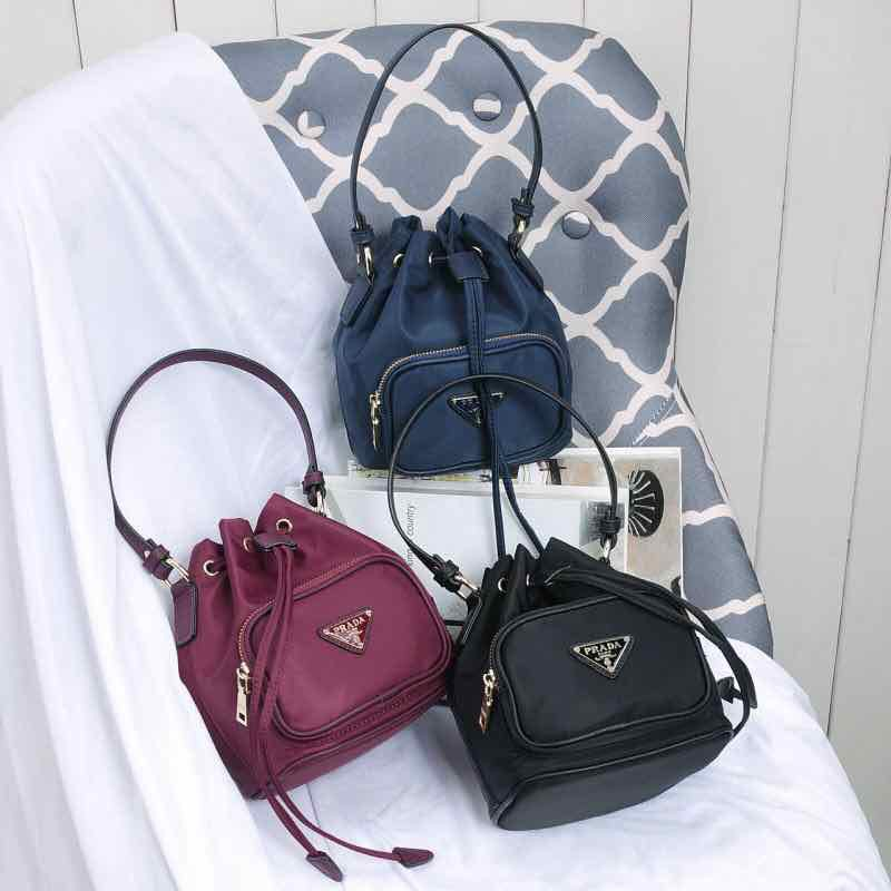 ada4481dc1ce #COD# Authentic Prada Bucket Bag with Box